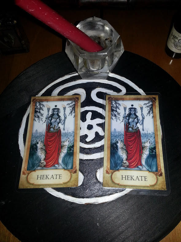 Hekate Prayer Cards